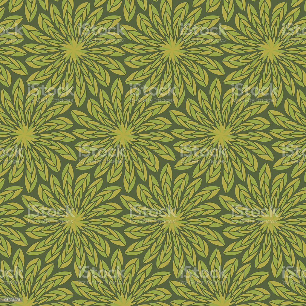 Feathery Floral Pattern royalty-free feathery floral pattern stock vector art & more images of backgrounds