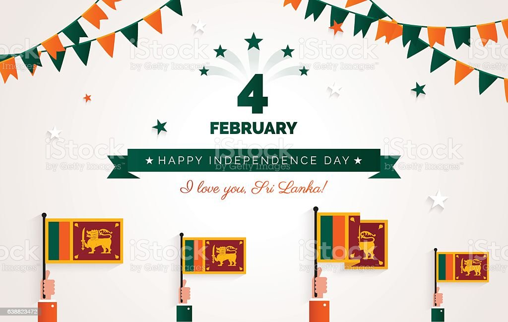 4 february sri lanka independence day greeting card stock vector art sri lanka independence day greeting card royalty free 4 february sri m4hsunfo