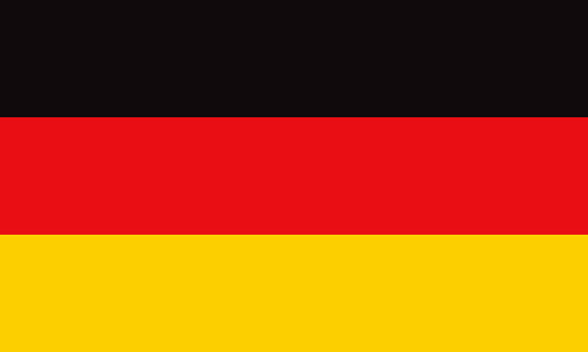 Federal Republic of Germany Europe Flag