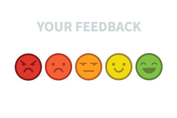 Commentaires emoji - Illustration vectorielle