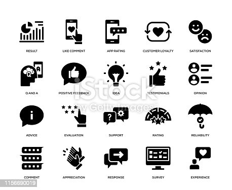 Feedback Icon Set