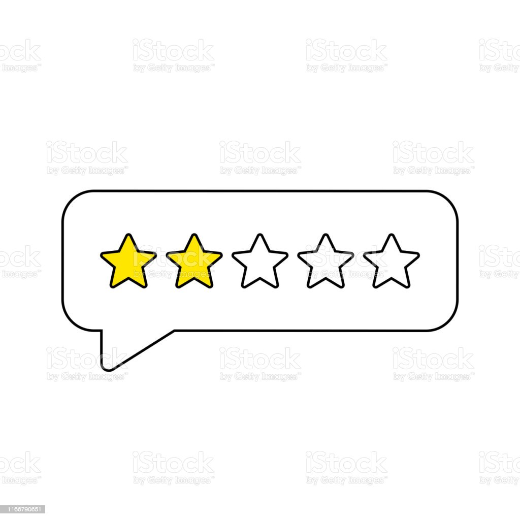 Feedback or Rating. Rank, level of satisfaction rating. Five stars...