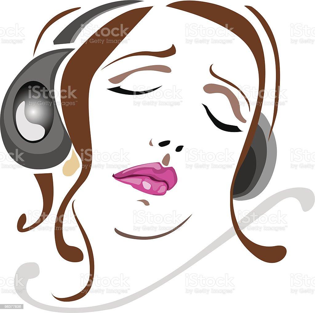음악 느껴보세요 royalty-free 음악 느껴보세요 관능에 대한 스톡 벡터 아트 및 기타 이미지