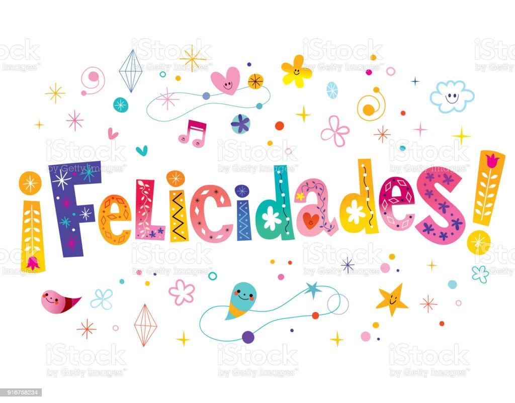 Felicidades, Natha !!! Felicidades-congratulations-in-spanish-vector-id916758234