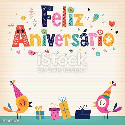istock Feliz Aniversario 522871303