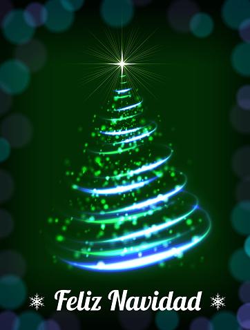 Feliz Navidad Christmas Tree