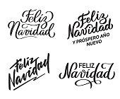Feliz Navidad - Collection of hand-written texts