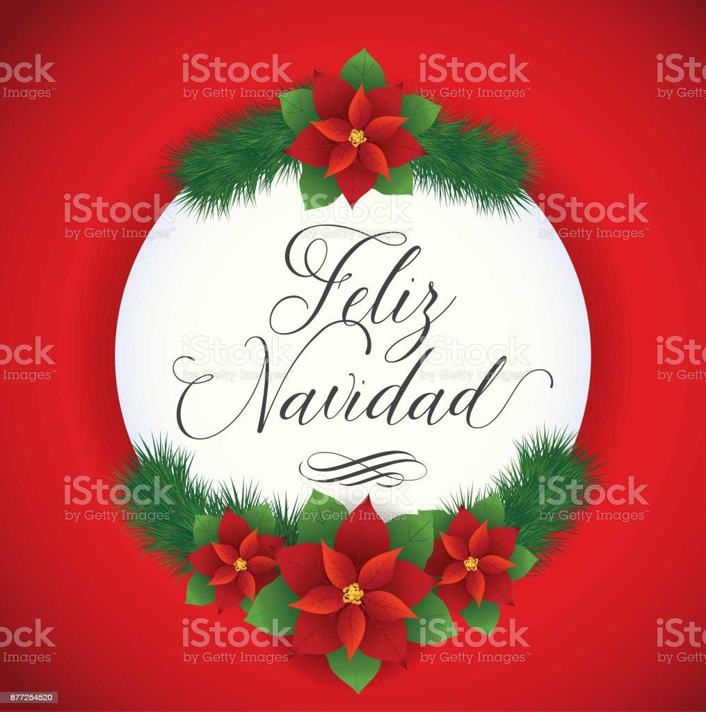 Buon Natale In Spagnolo.Feliz Navidad Composizione Immagini Vettoriali Stock E Altre Immagini Di America Latina Istock