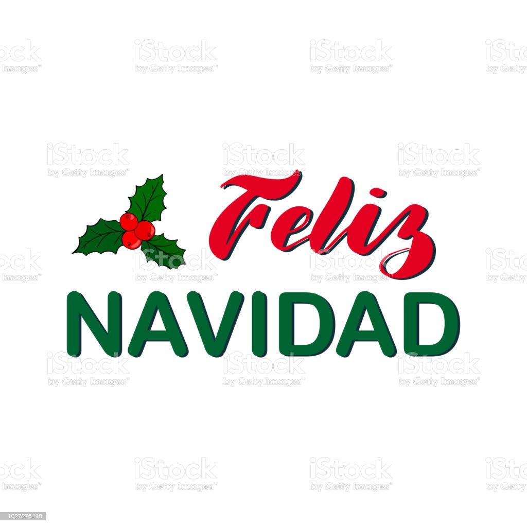 Feliz Navidad Joyeux Noel 2019.Feliz Navidad Joyeux Noel Et Nouvel An Vacances Calligraphie