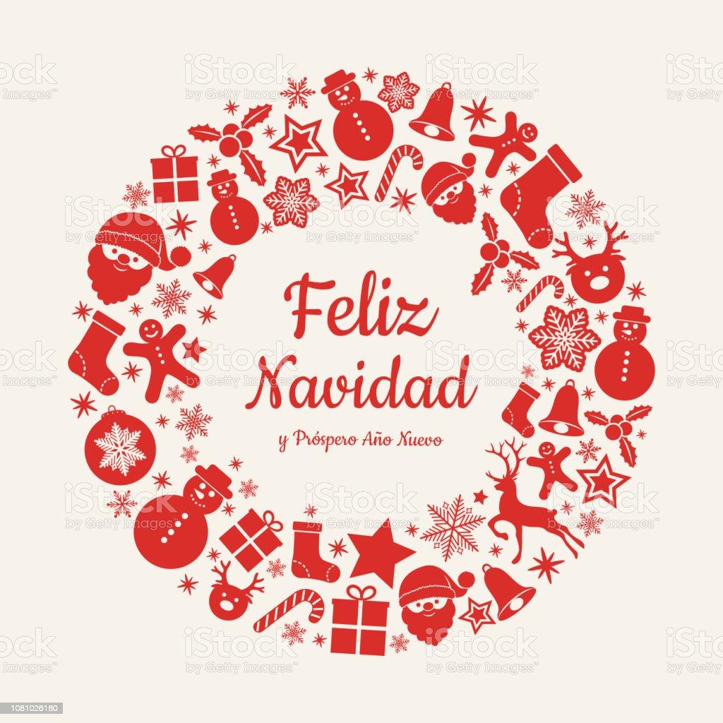 Christmas Wishes In Spanish.Feliz Navidad Y Prospero Ano Nuevo Spanish Christmas Wishes