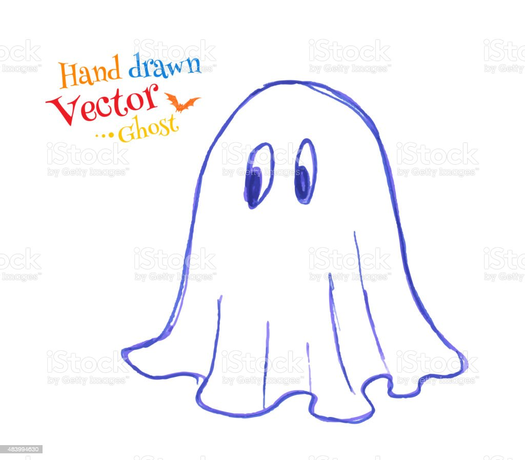 Felt Pen Childlike Drawing Of Cute Ghost Stock Illustration Download Image Now Istock Share the best gifs now >>>. https www istockphoto com vector felt pen childlike drawing of cute ghost gm483994630 70913081