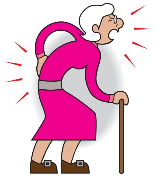 Female Aches and Pains – Vektorgrafik