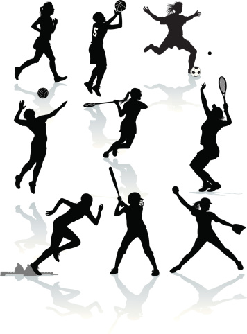 Female Athletes - Softball, Tennis, Soccer, Lacrosse, Volleyball, Basketball