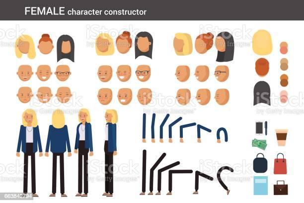 Female character constructor for different poses vector id663842794?b=1&k=6&m=663842794&s=612x612&h=mrx ivgkar 8 xg934clrfc5ikfpnpjjjobxctq pnk=