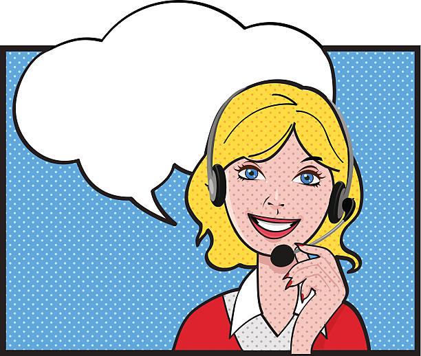 ilustrações, clipart, desenhos animados e ícones de cliente feminino - costumer