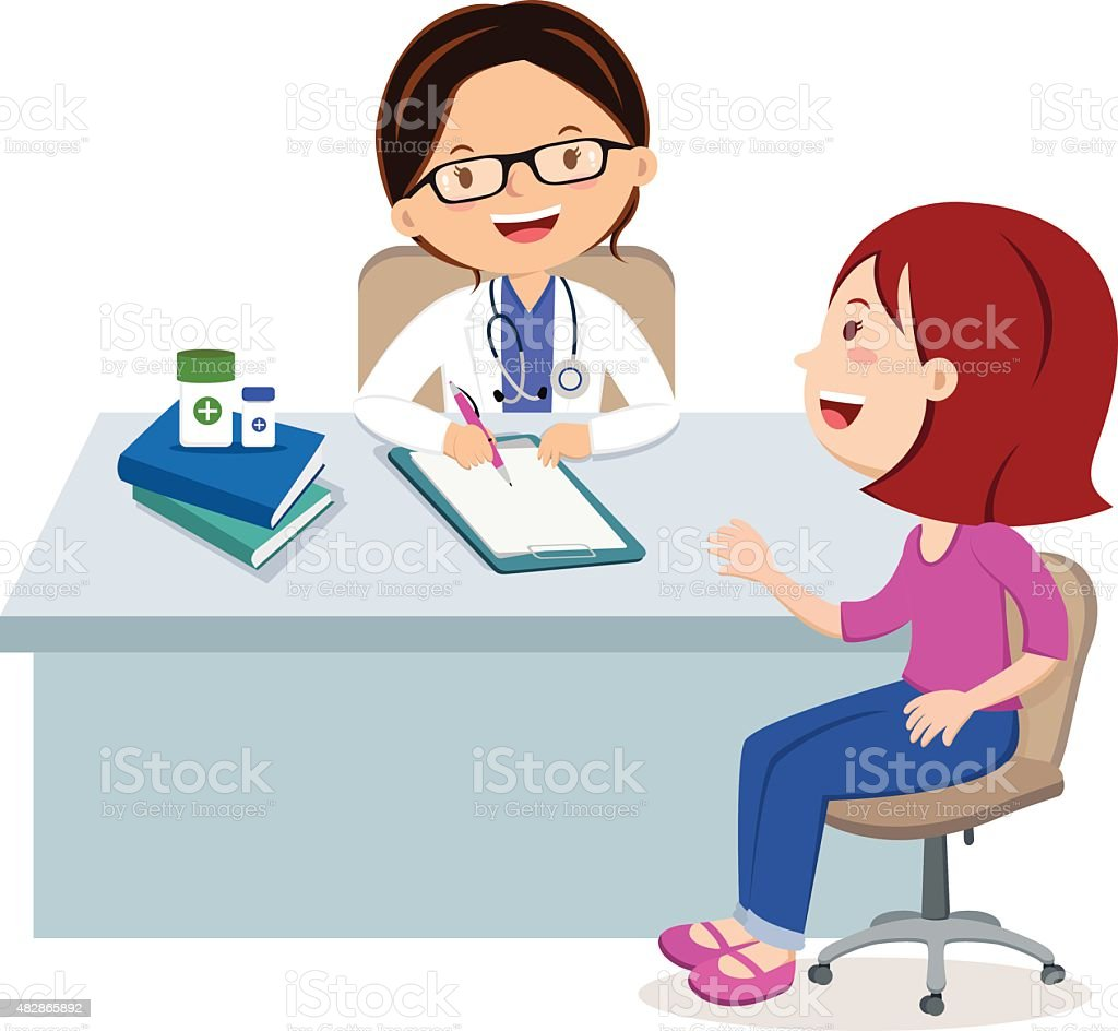Female Doctor Consultation Stock Vector Art & More Images ...