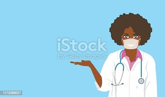 istock Female doctor giving instructions 1213386021