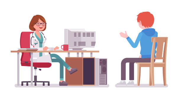 Doctors Office Illustrations, Royalty-Free Vector Graphics ...