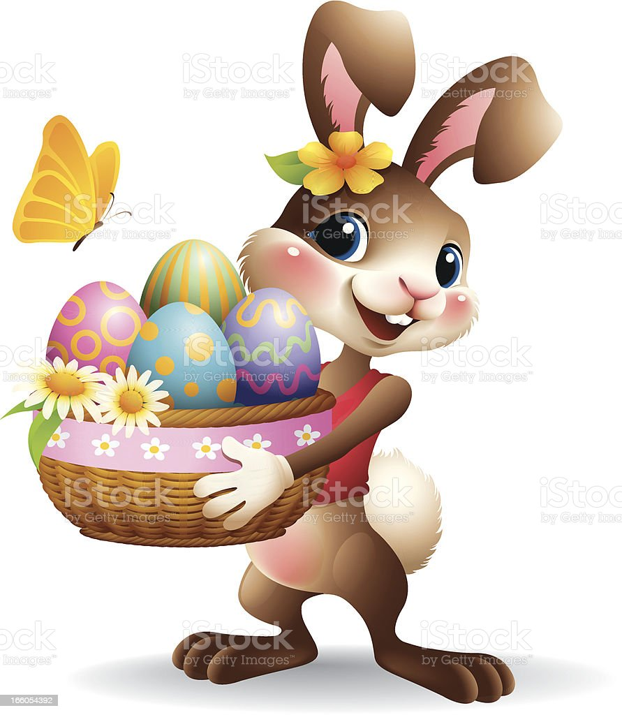 easter bunny clip art vector images u0026 illustrations istock