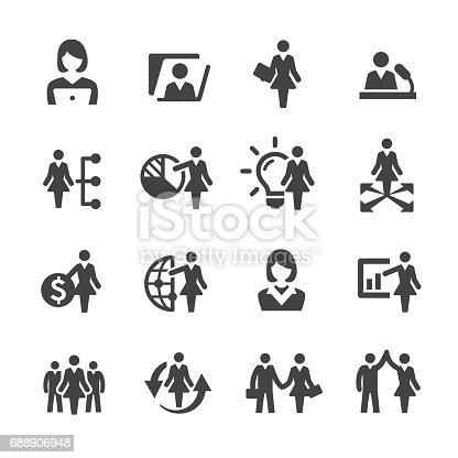Female Leaders Icons
