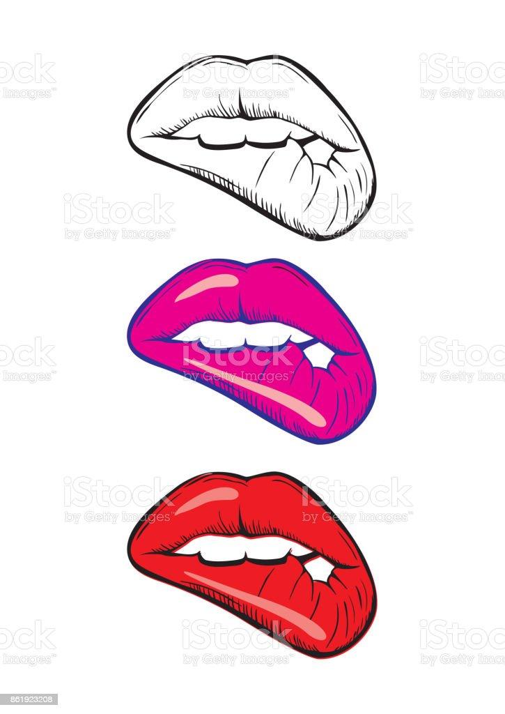 Ziemlich Lippen Malvorlage Zeitgenössisch - Malvorlagen-Ideen ...