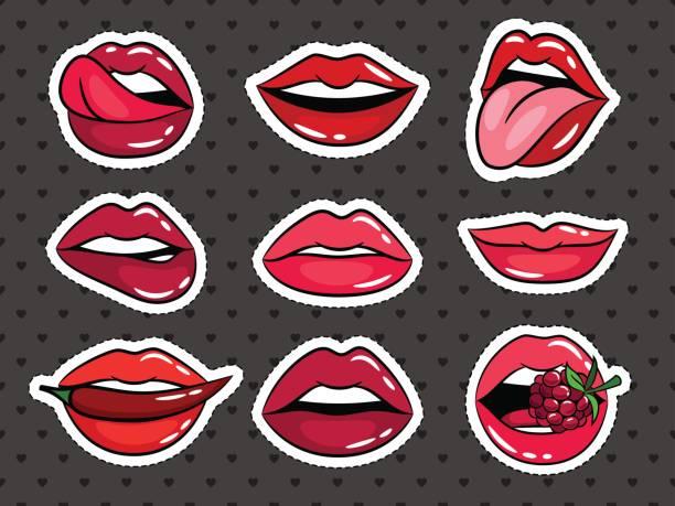 Royalty Free Tongue Clip Art, Vector Images ...