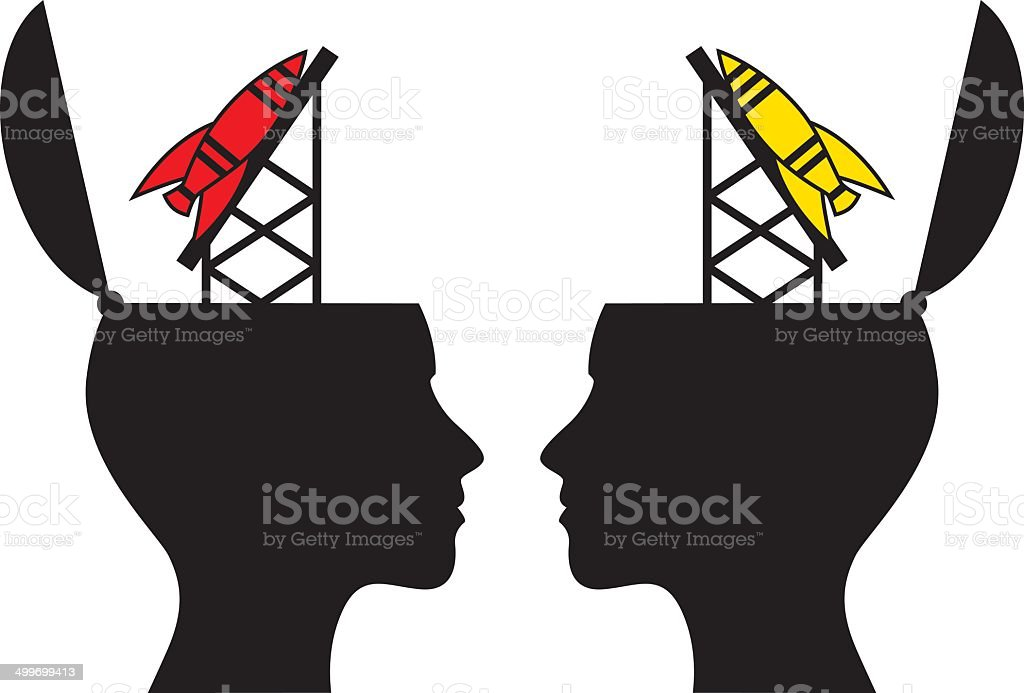 Female Missile Heads royalty-free stock vector art