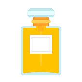 Female perfume vector flat isolated