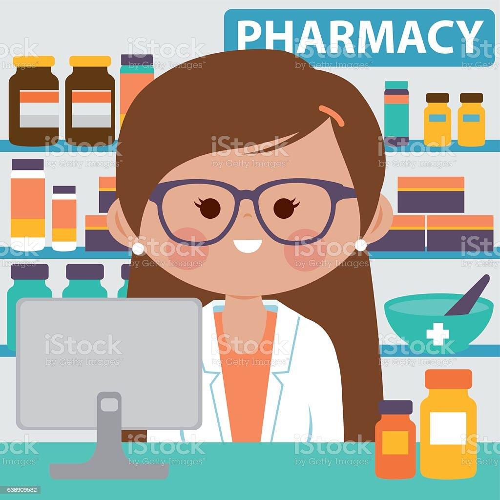 royalty free pharmacy counter clip art vector images rh istockphoto com pharmacy clip art free pharmacy clip art images