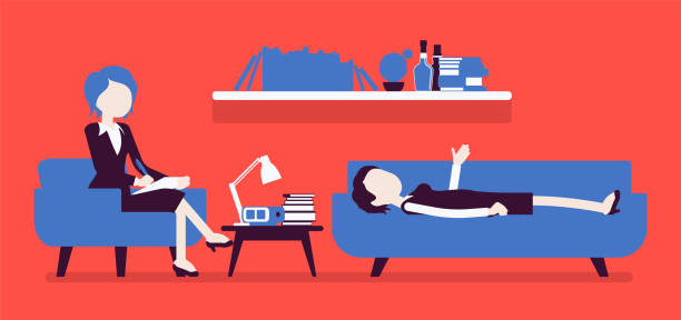 Best Therapist Couch Illustrations Royalty Free Vector