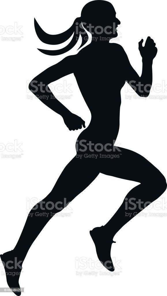 royalty free running race final clip art vector images rh istockphoto com free clipart runner runner images clipart