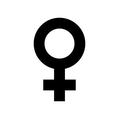 여성 섹스 심볼 아이콘입니다 블랙 미니 멀 아이콘 흰색 배경에 고립입니다 개념에 대한 스톡 벡터 아트 및 기타 이미지