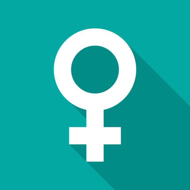 illustrations, cliparts, dessins animés et icônes de icône de sex-symbol féminin avec ombre portée. style design plat. - venus