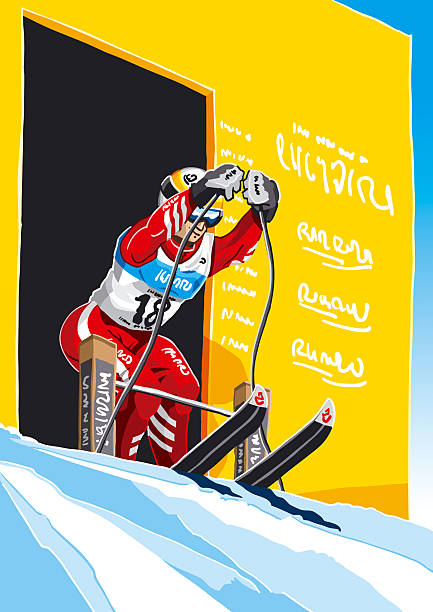 Female Skier Start Vector illustration of a female skier at the start of a professional race. The background is on a separate layer, so you can use the illustration on your own background. The colors in the .eps and .ai-files are ready for print (CMYK). Included files: EPS (v8), AI (CS2) and Hi-Res JPG.  Related images: [url=file_closeup.php?id=3560476][img]file_thumbview_approve.php?size=1&id=3560476[/img][/url] [url=file_closeup.php?id=3561141][img]file_thumbview_approve.php?size=1&id=3561141[/img][/url] [url=file_closeup.php?id=2487973][img]file_thumbview_approve.php?size=1&id=2487973[/img][/url]  [url=file_closeup.php?id=2525900][img]file_thumbview_approve.php?size=1&id=2525900[/img][/url] [url=file_closeup.php?id=2957395][img]file_thumbview_approve.php?size=1&id=2957395[/img][/url] [url=file_closeup.php?id=2922594][img]file_thumbview_approve.php?size=1&id=2922594[/img][/url]   [url=http://www.istockphoto.com/search/lightbox/1366021][img]http://www.fr73.de/is/lb_winter.jpg[/img][/url] winter sport stock illustrations