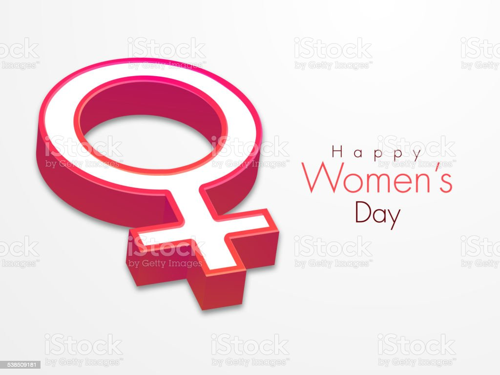 3d female symbol for international womens day celebration stock 3d female symbol for international womens day celebration royalty free 3d female symbol for biocorpaavc Gallery