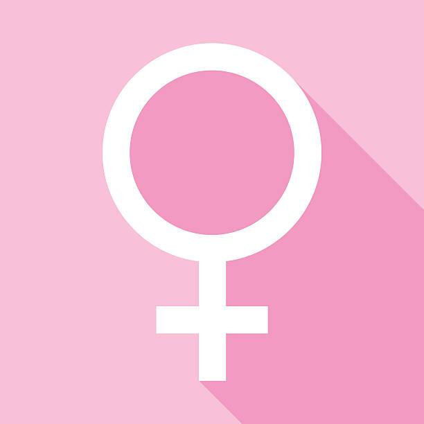 stockillustraties, clipart, cartoons en iconen met female symbol icon - vrouwelijk