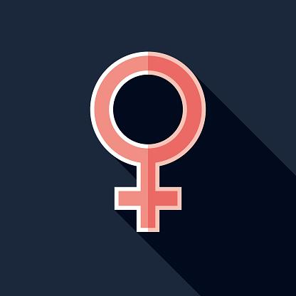 Female Symbol Pregnancy Icon