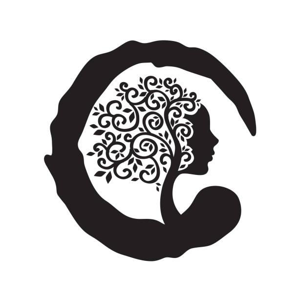 ilustrações, clipart, desenhos animados e ícones de árvore fêmea - consciência negra