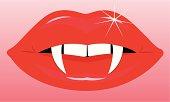 Female Vampire Mouth