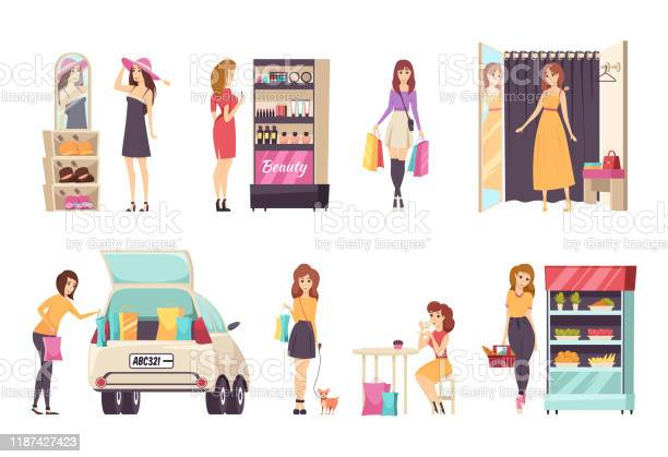 Females shopping store purchasing clothes vector vector id1187427423?b=1&k=6&m=1187427423&s=612x612&h=mizsgeznz ssgwfvbfrrm xy0rcwyfnkgzawkifqqg4=