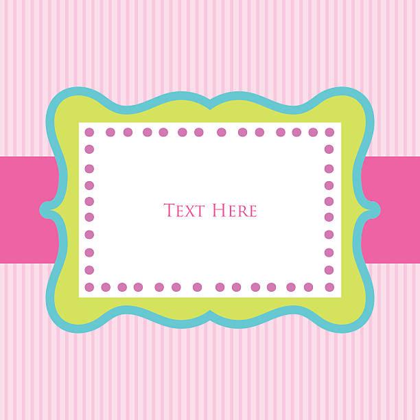 Royalty free girly birthday invitations backgrounds clip art vector feminine template design vector art illustration filmwisefo