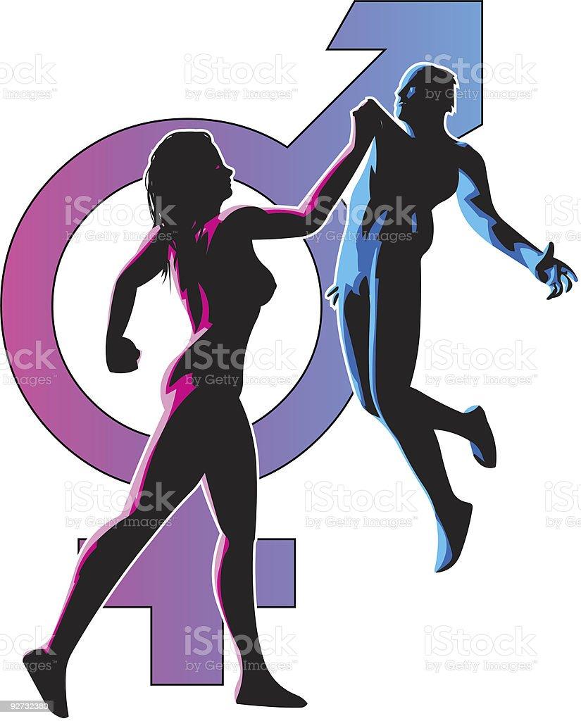 Feminism royalty-free stock vector art