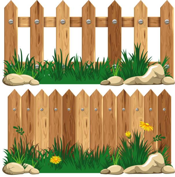 stockillustraties, clipart, cartoons en iconen met fence - fence