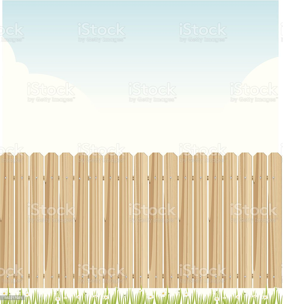 fence royalty-free stock vector art
