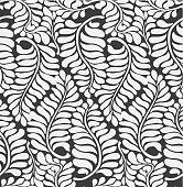 istock Fern leaves wallpaper pattern background (tiles seamlessly) 514729379