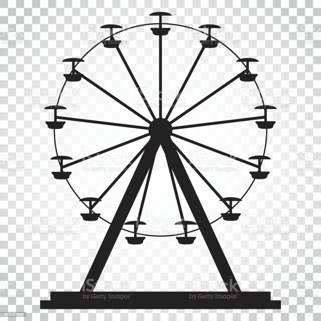 How To Draw A Ferris Wheel Step By Step Drawing Art Ideas