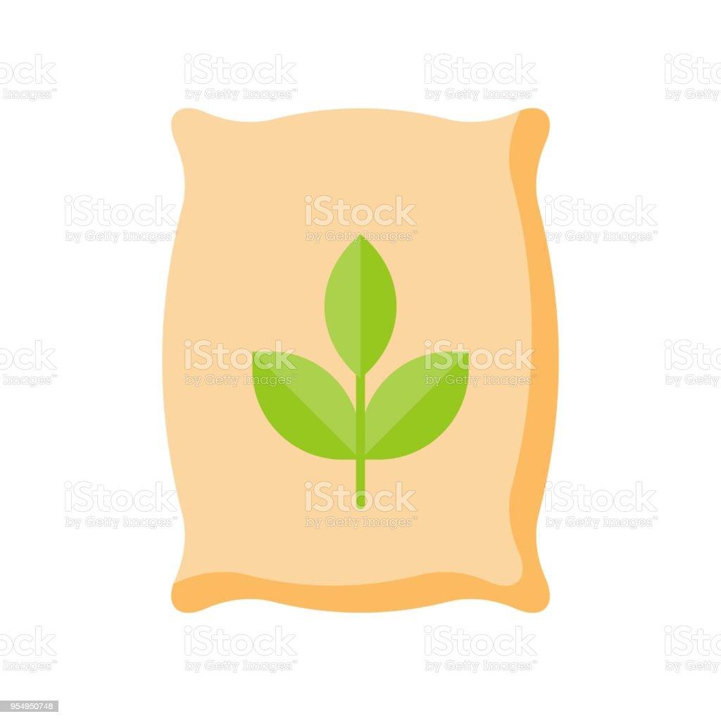 fertilizer, flat icon farming and gardening concept