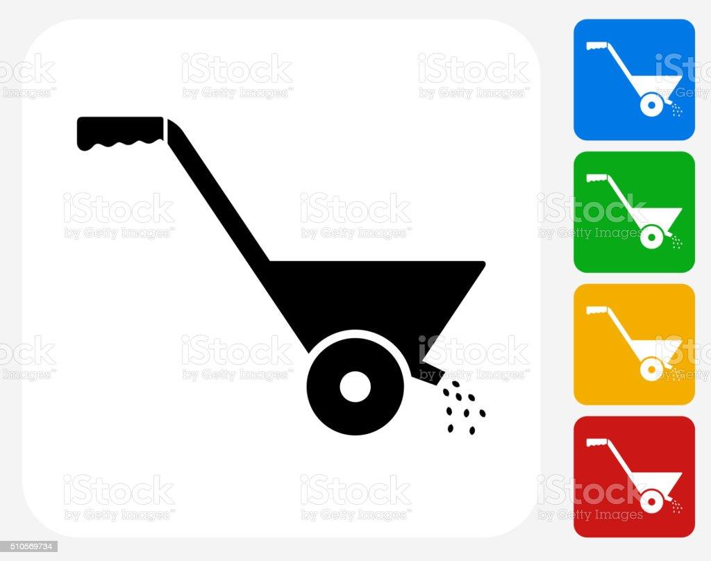 Fertilizer Icon Flat Graphic Design