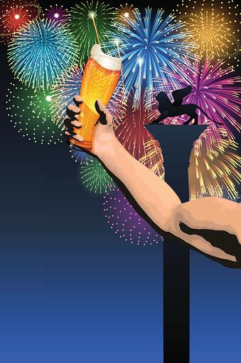 Festa del Redentore[Fireworks and beer]