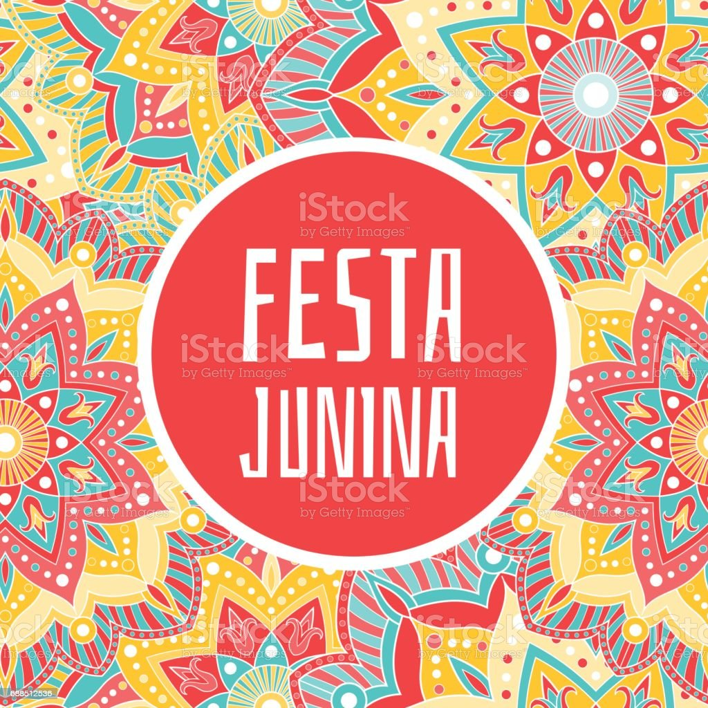 Festa Junina banner vector vector art illustration